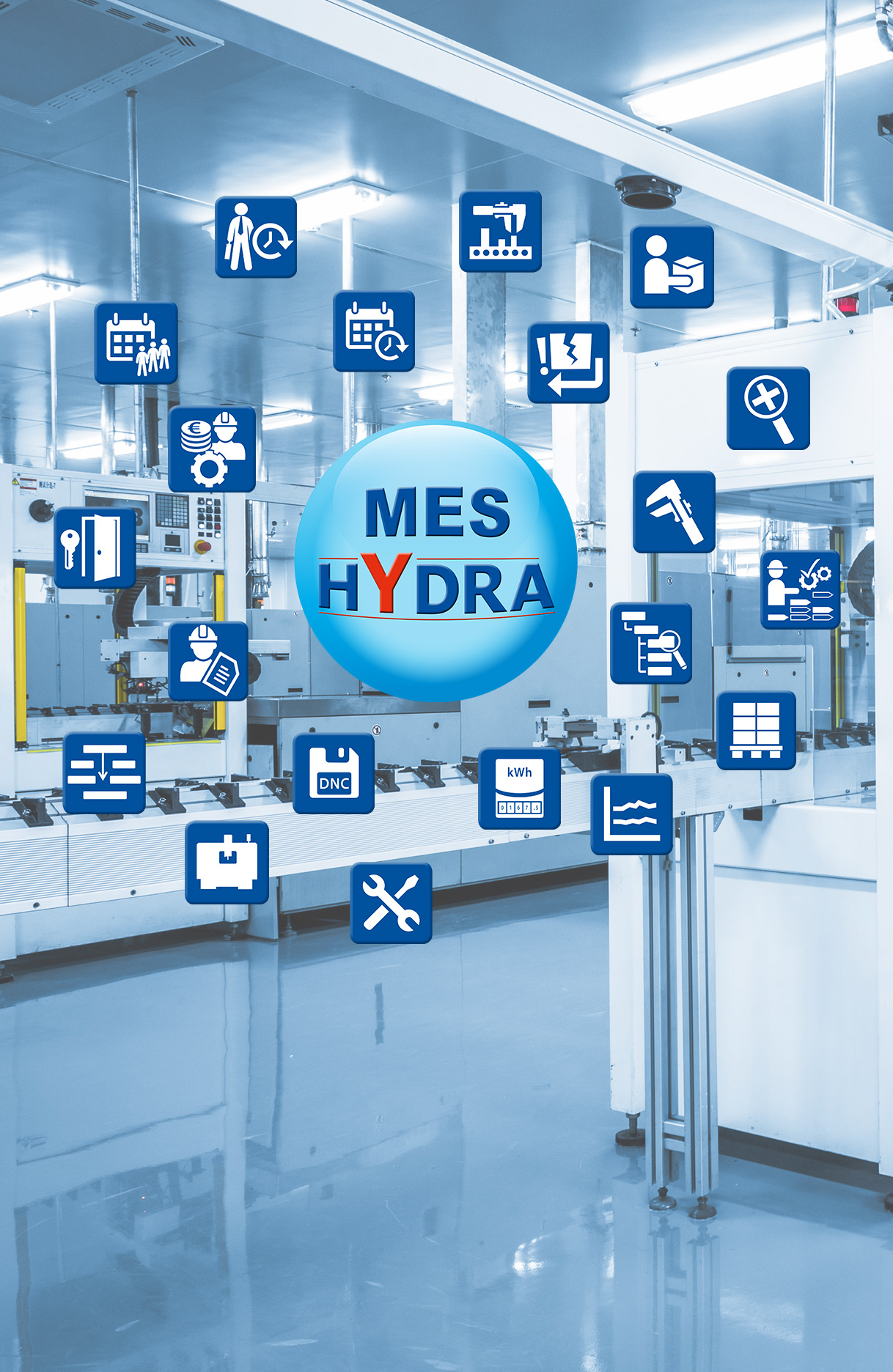 Increased production efficiency with MES