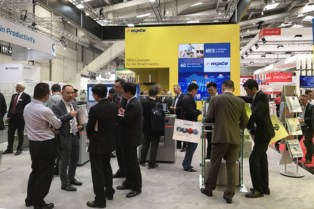 For many years, the exhibition booth has been one of the defining elements of the steadily growing Digital Factory leading trade fair as part of the Hannover Messe.