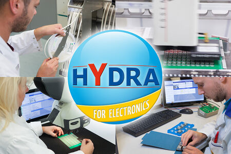 The industry solution HYDRA for Electronics considers all important challenges of the electronics manufacturing like material handling, production workflows and quality assurance.
