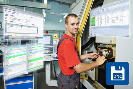 HYDRA DNC makes setup processes more efficient and increases process reliability