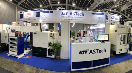PDV Asia was present at a joint booth from Singapore-based system integrator ASTech Pte Ltd