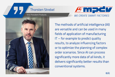 Expert statement of Thorsten Strebel, Vice President Products at MPDV