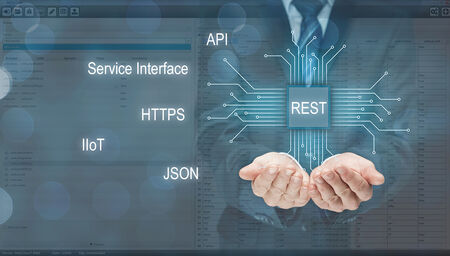 A modern service interface based on REST provides HYDRA with the required interoperability