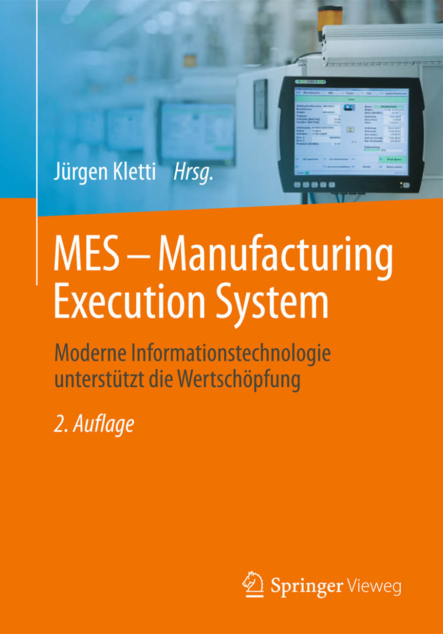 Cover MES - Manufacturing Execution System 2. Auflage